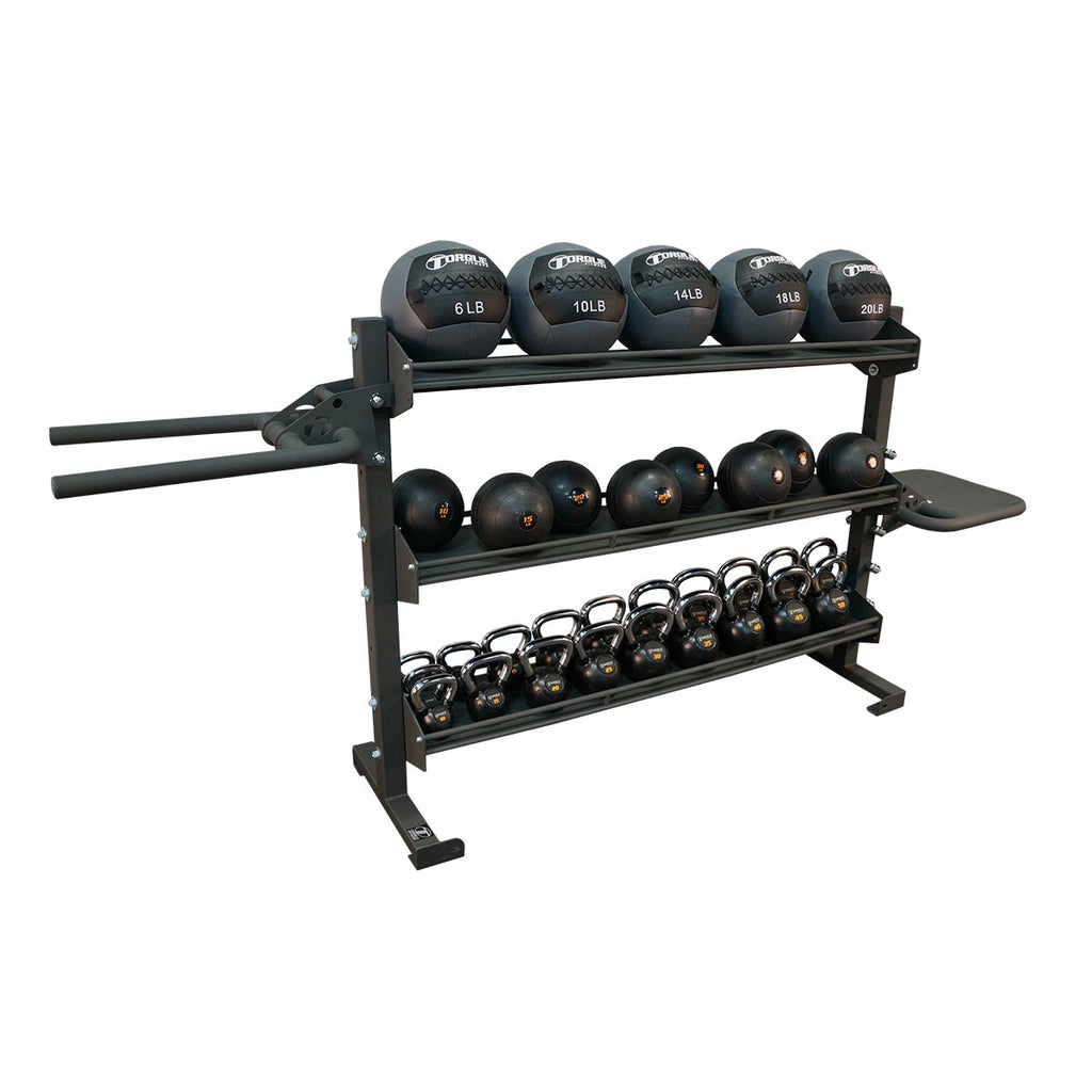Torque X-SERIES - 6 Foot Universal Storage/Dip/Plyo Rack