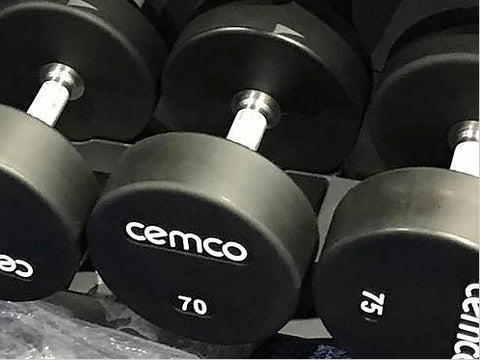 Cemco Urethane Elite Dumbbells and Urethane Elite Dumbbell Sets