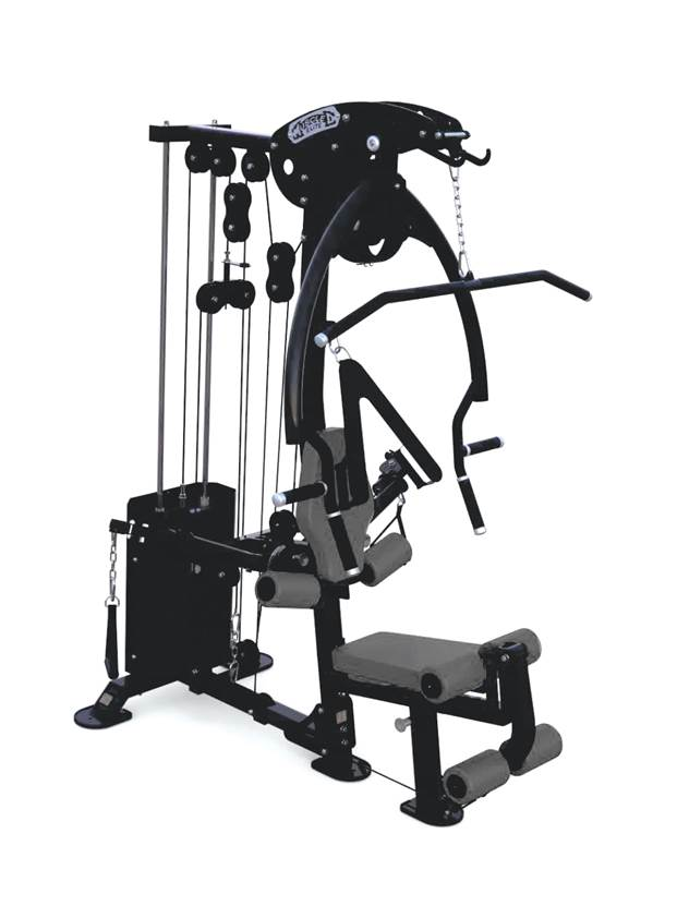 COMPACT SINGLE STACK GYM