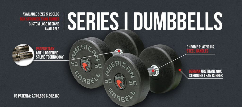 SERIES I COMMERCIAL GRADE URETHANE DUMBBELLS