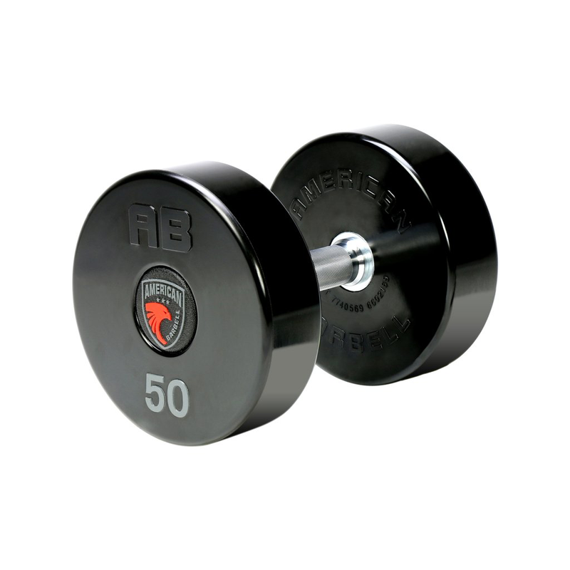 AMERICAN BARBELL SERIES II COMMERCIAL GRADE URETHANE DUMBBELLS