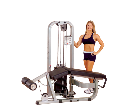 Body-Solid - PCL LEG CURL MACHINE, 210 LB STACK