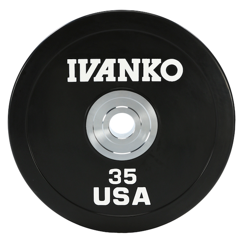 OBPX Olympic Bumper Plates, Heavy-Duty