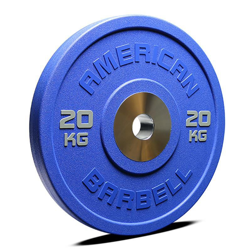 American Barbell COLOR Urethane Pro Series Bumper Plates (LB or KG)