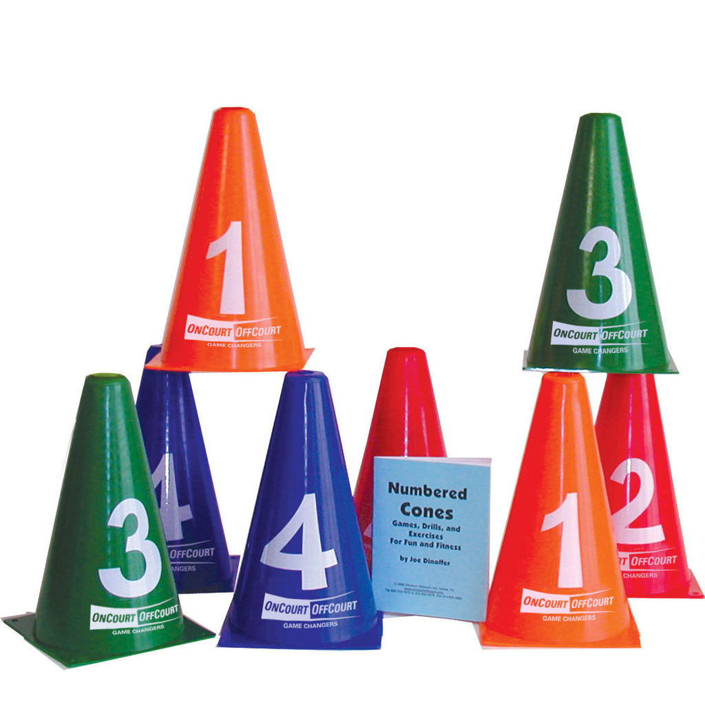 Numbered Cones - Set of 8 w/booklet