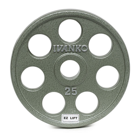 OMEZH Olympic, Machined, E-Z Lift® Plate w/round openings
