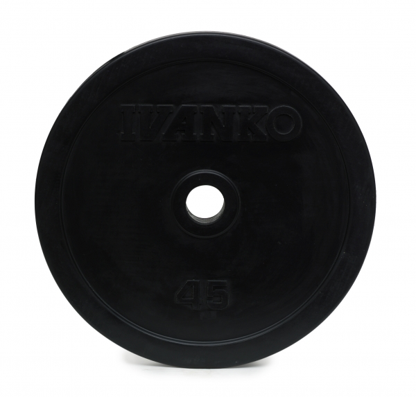 RUBO Olympic Plate, Rubber-Encased