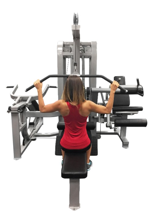 Compact Multi Gym 4 Stack - Muscle D