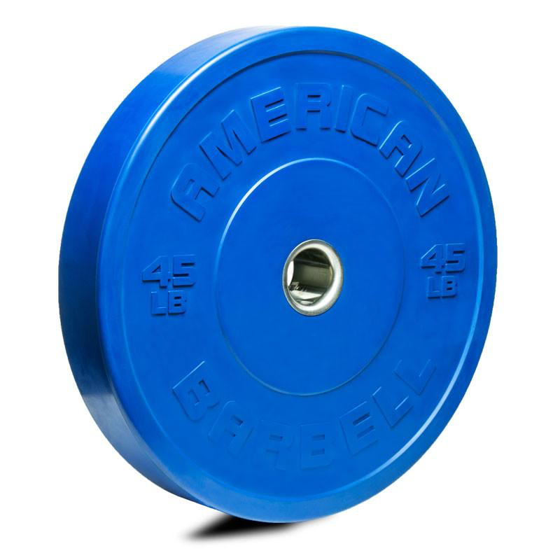 American Barbell COLOR Rubber Sport Training Bumper (LB or KG)