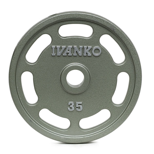 OMEZS Olympic, Machined, E-Z Lift® Plate w/slotted openings.