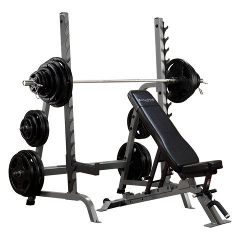 Body-Solid - PCL FULL COMMERCIAL ADJUSTABLE OLYMPIC PACKAGE