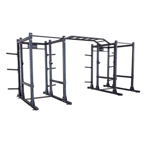 Body-Solid - PCL Power Rack Double Rack/Extension w Monkey Bar