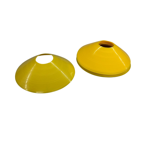 "AGILITY CONES, 2"" (5CM) HIGH YELLOW (SET OF 12)"