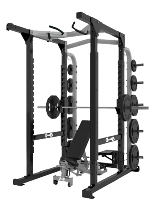 Muscle D - Power Cage