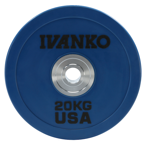 OBPX Olympic Bumper Plate, Heavy-Duty, Color