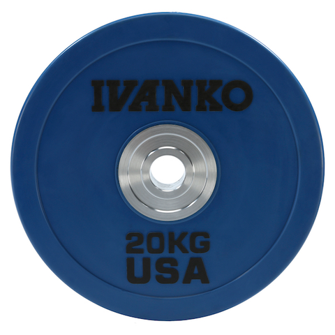 OBPX-C Olympic Bumper Plate, Heavy-Duty, Color