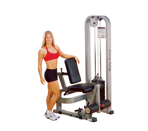 Body-Solid - PCL LEG EXTENSION MACHINE 210 LB STACK