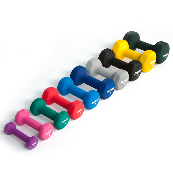 Hex Neoprene Dumbbells
