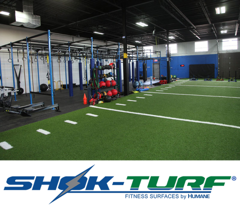 SHOK-TURF Functional Indoor Fitness Turf
