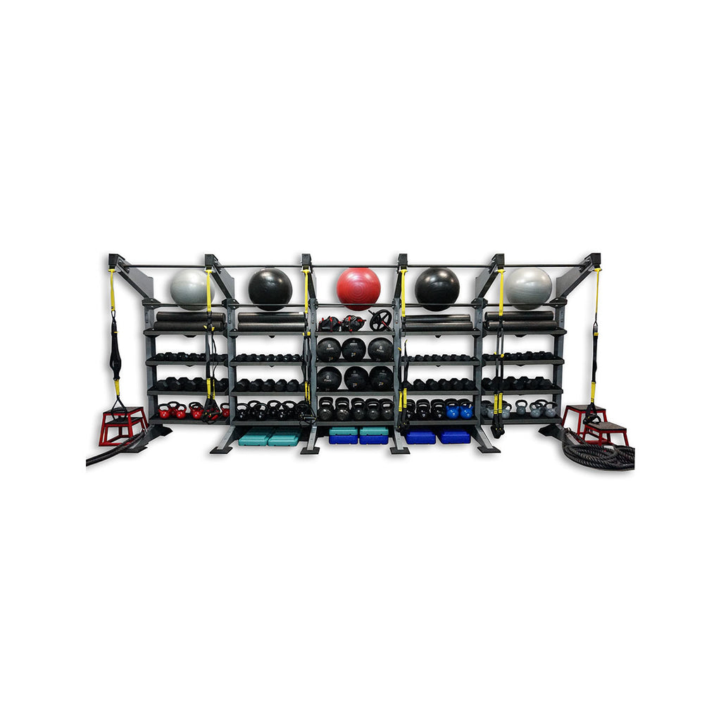 Torque X-CREATE - 5 Module Storage Wall (Platinum 2)
