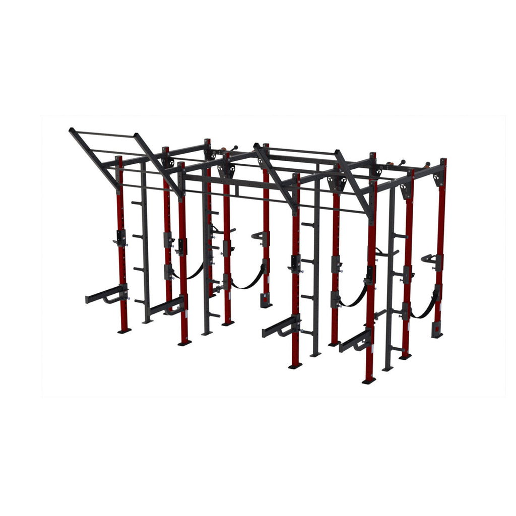 Torque X-RACK ATHLETIC - 14 X 8 Foot Storage Combo Rack - A1 Package