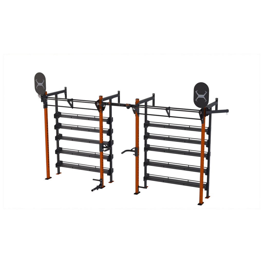 Torque X-SERIES - X-Rack Storage System Wall Mount - 4 X 16