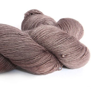 Nurturing Fibres SingleSpun Lace Yarn Aged Leather