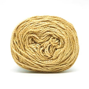 Nurturing Fibres Eco-Bamboo Yarn in Old Gold