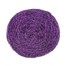 Load image into Gallery viewer, Nurturing Fibres Eco-Fusion Yarn Violet