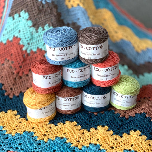 Betty McKnit's 6 Day Baby Blanket | Re-imagined in Nurturing Fibres