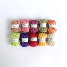 Load image into Gallery viewer, Eco-Bonbons by Nurturing Fibres in Eco-Cotton, assorted colors, packs of 10