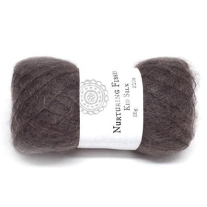 Nurturing Fibres Kid Silk Lace in Espresso