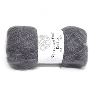 Nurturing Fibres Kid Silk Lace in Forged
