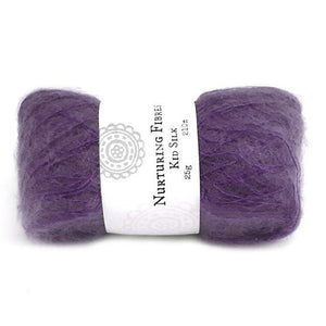 Nurturing Fibres Kid Silk Lace in Imperial