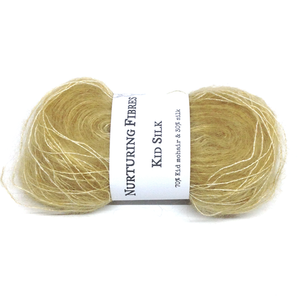 Nurturing Fibres Kid Silk Lace in Straw
