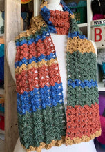 Load image into Gallery viewer, Four Seasons Scarf Kit | A crocheted pattern by Bizzy Crochet