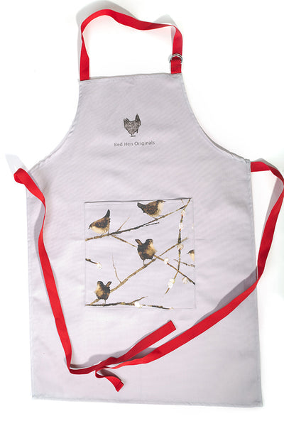 Wrens Apron, Plain Background