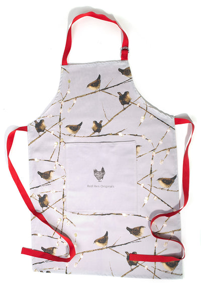 OUT OF STOCK Wrens Apron, Plain Pocket