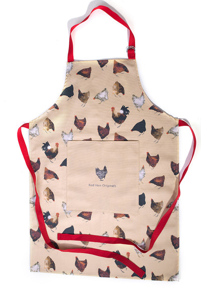 OUT OF STOCK Hens Apron, Plain Pocket