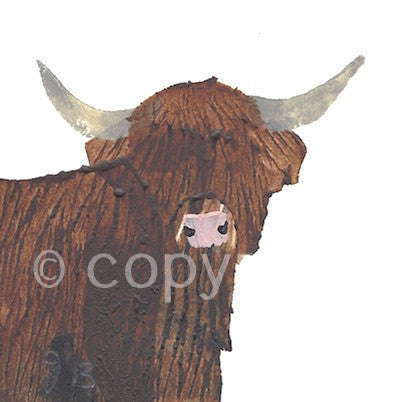 NO LONGER AVAILABLE Highland Cow