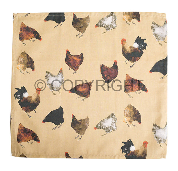 OUT OF STOCK Hens Napkin Gift Set