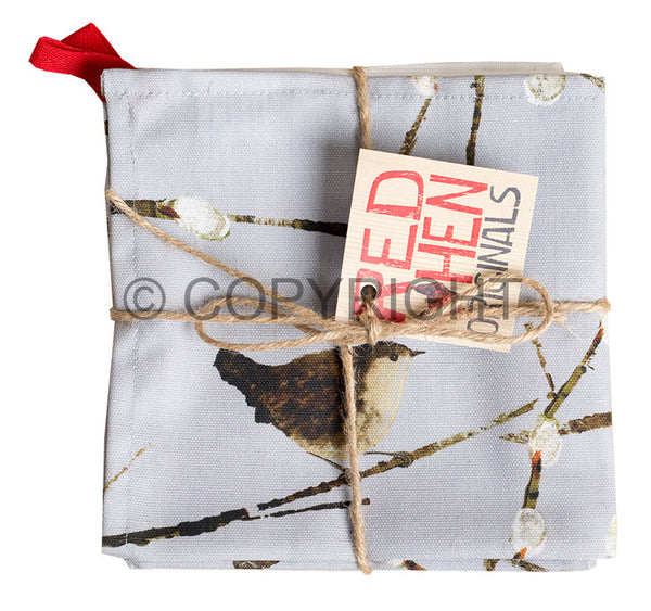 OUT OF STOCK Wrens Tea Towel Twin Pack