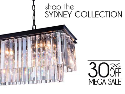 Shop Elegant Lighting Sydney Collection 30% Off Sale