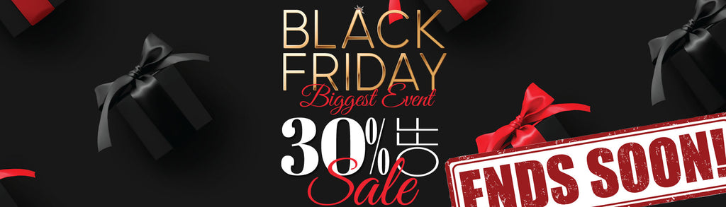 Save Big at our Black Friday 2020 Lighting Sale - Ends Soon 30%!