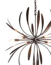 Shop hubbardton-forge Brand Chandeliers Products