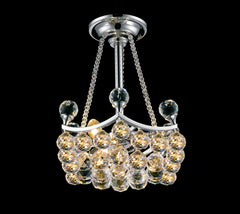 "Buy Traditional 12"" wide Crystal Ball Basket Chandelier  From Lighting Originals"