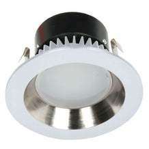 "10903-05 Dolan Designs Recesso 4"" reflector satin nickel/white"