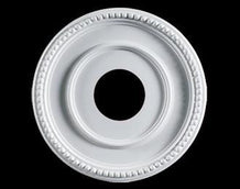 12.5 in. White Ceiling Medallion