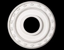 12 in. White Ceiling Medallion