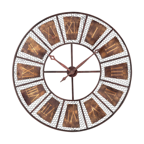 128-10115 Sterling Outdoor Wall Clock